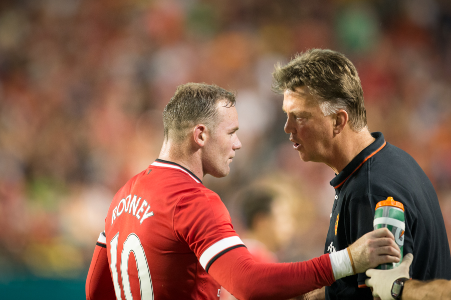 Wayne Rooney and Louis van Gaal : Matches  : NYC-based Portrait, Commercial and Editorial Photographer | Ira L. Black Photography
