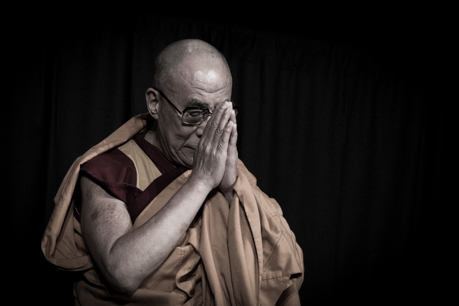 His Holiness The Dalai Lama : Editorial : NYC-based Portrait, Commercial and Editorial Photographer | Ira L. Black Photography