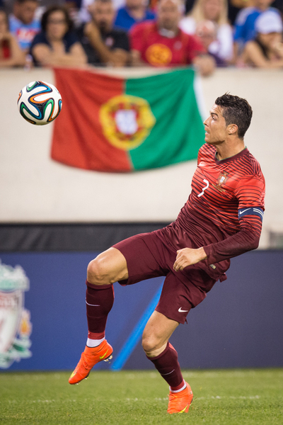 Cristiano Ronaldo : Matches  : NYC-based Portrait, Commercial and Editorial Photographer | Ira L. Black Photography